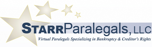StarrParalegals, LLC - Virtual Paralegals Specializing in Bankruptcy & Creditor's Rights